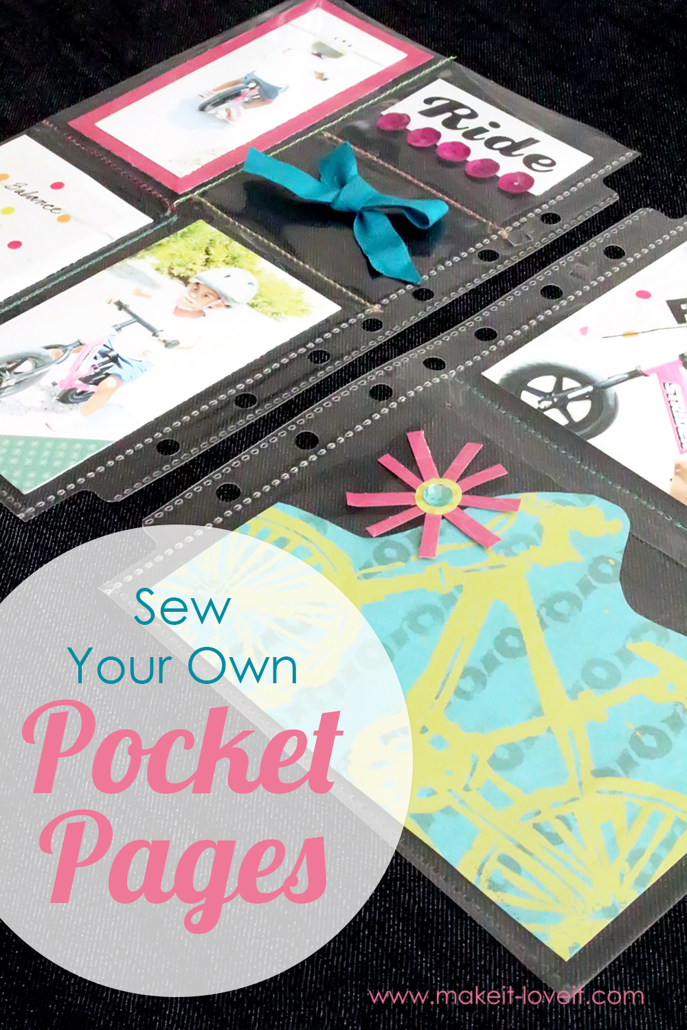 Sew Your Own Pocket Pages…for a variety of uses!