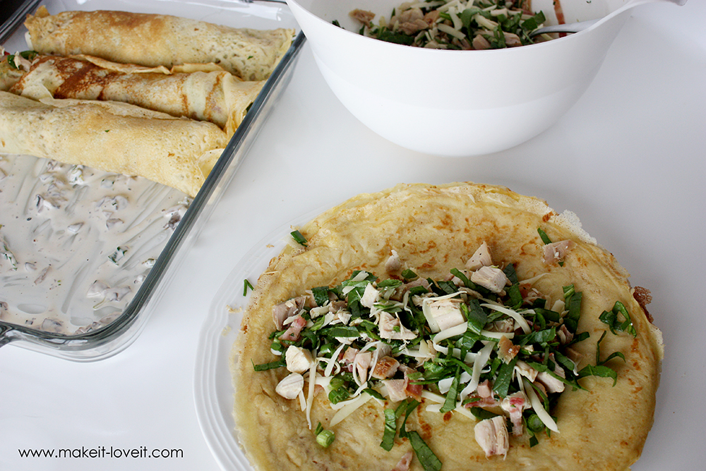 Swiss chicken crepes with spinach (11)