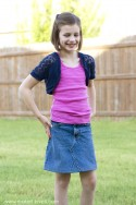 DIY: Turn Jean Pants into a JEAN SKIRT | via Make It and Love It