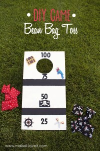 DIY Bean Bag Toss...fun for the whole family!