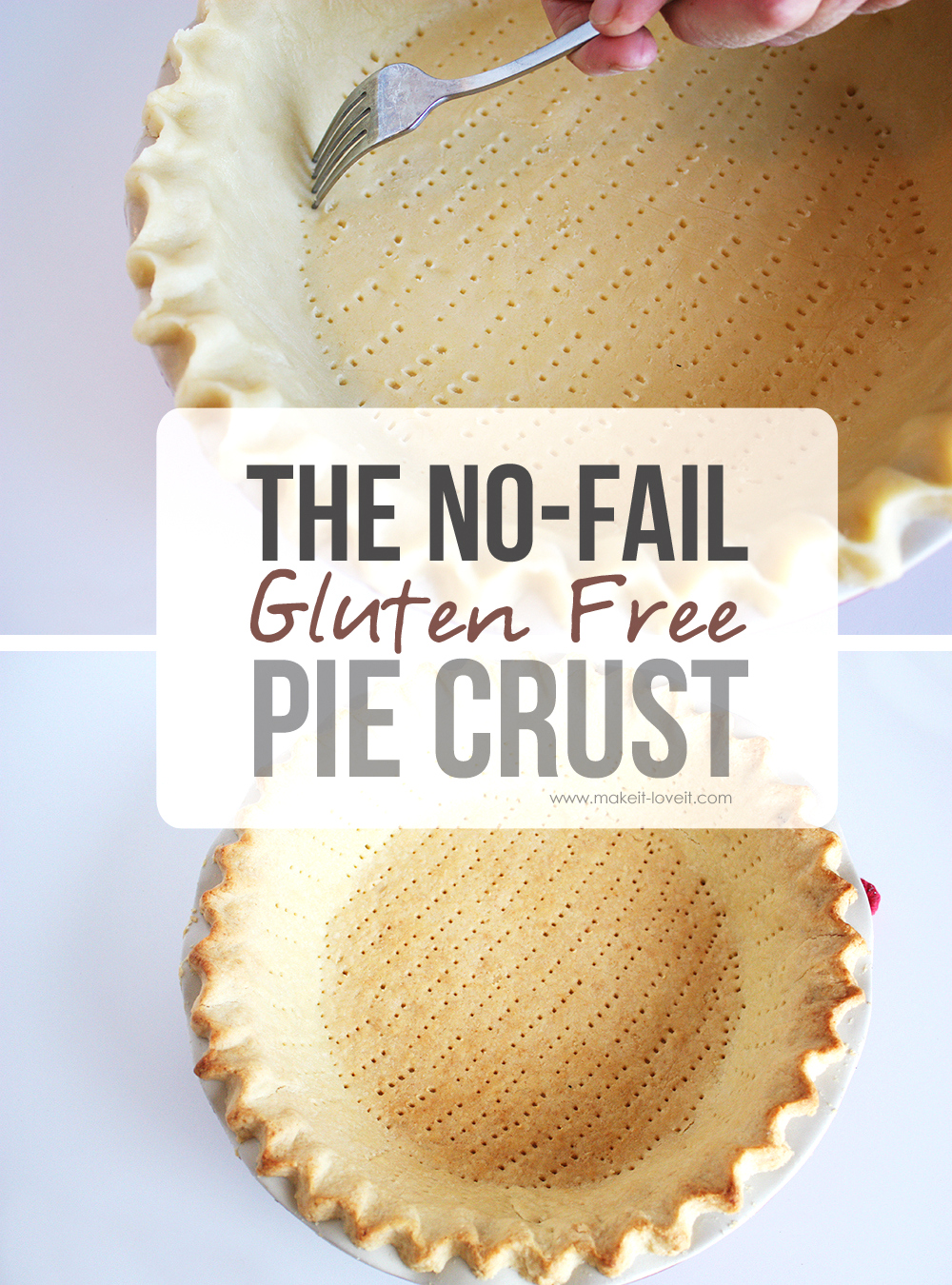 The No-Fail GLUTEN FREE Pie Crust…that's amazingly DELICIOUS!