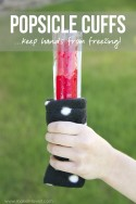 Popsicle Cuffs...keep those hands from freezing! | via Make It and Love It