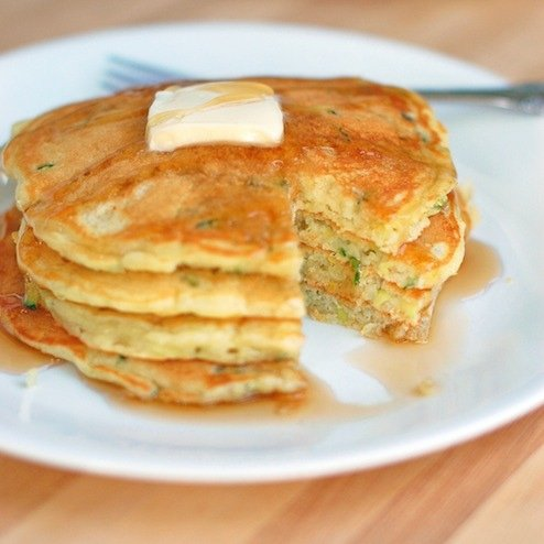 Pancakes-with-a-bite-missing