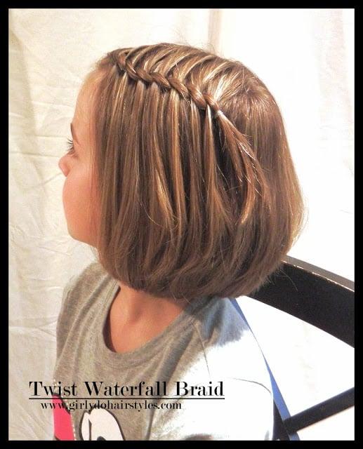 twist waterfall braid 7