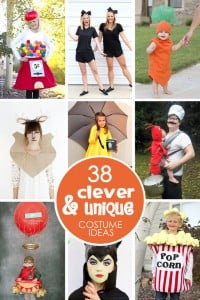 38 of the most CLEVER & UNIQUE Costume Ideas | via Make It and Love It