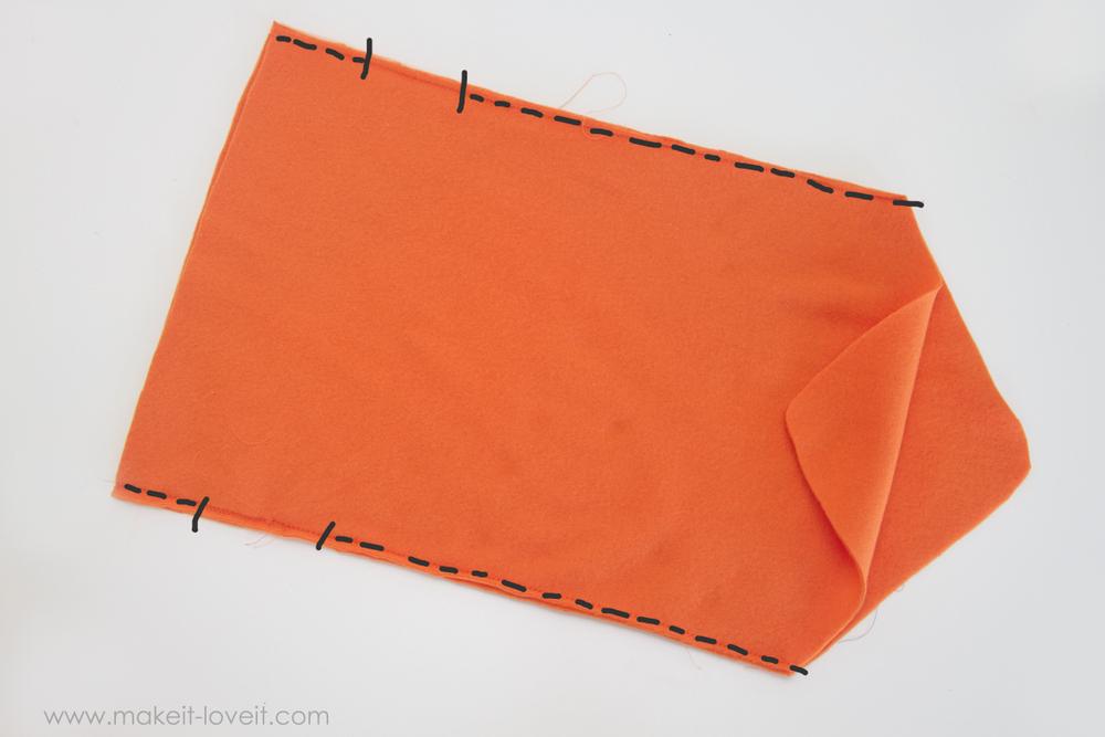 DIY Carrot Costume 17