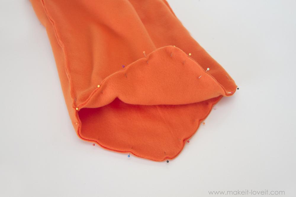 DIY Carrot Costume 19
