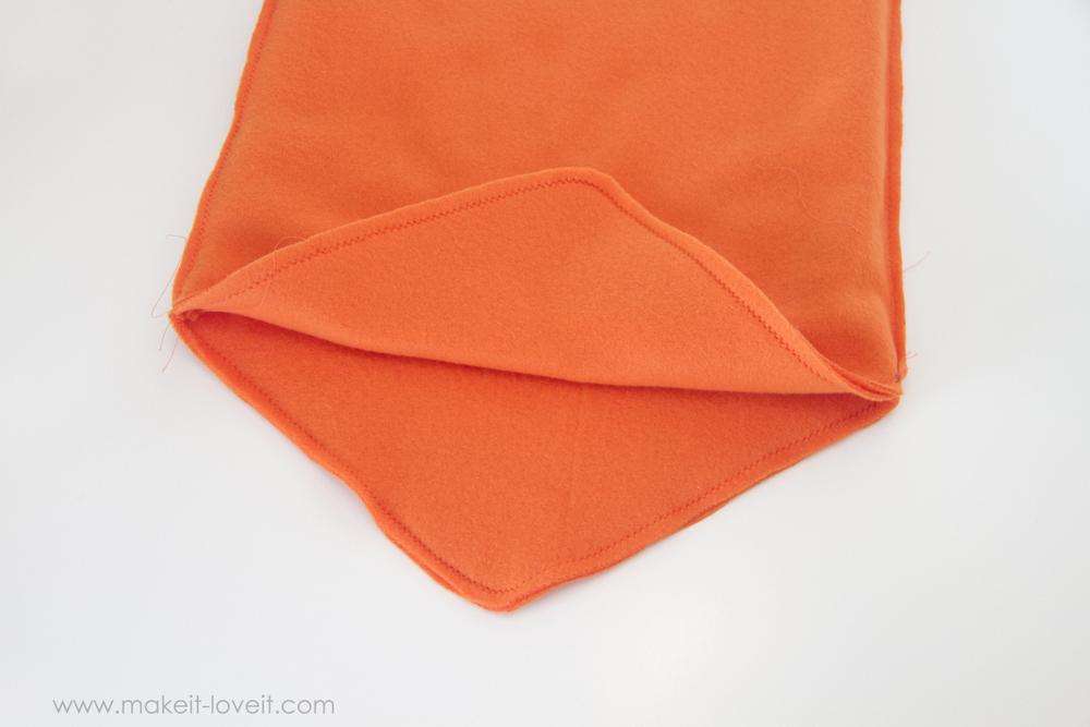 DIY Carrot Costume 20