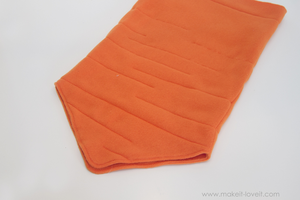 DIY Carrot Costume 22