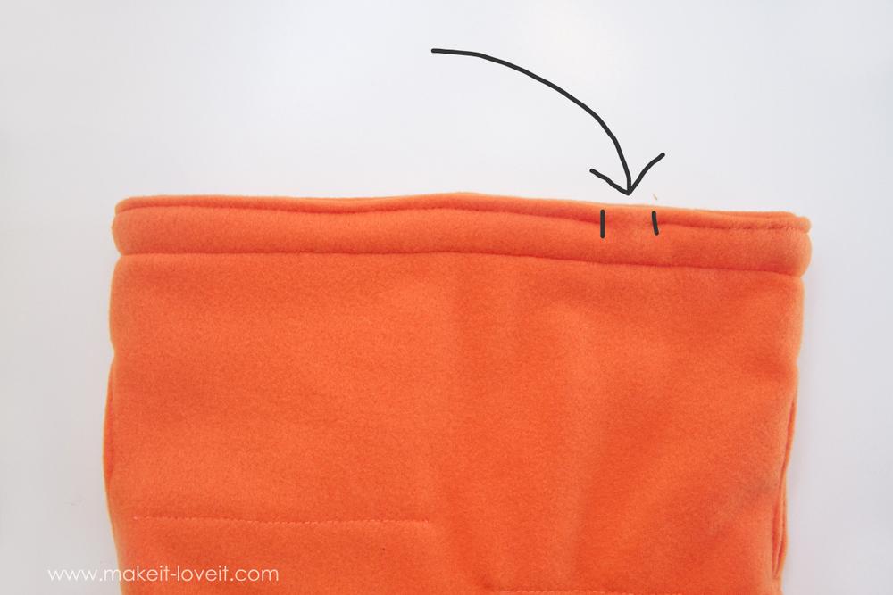DIY Carrot Costume 24