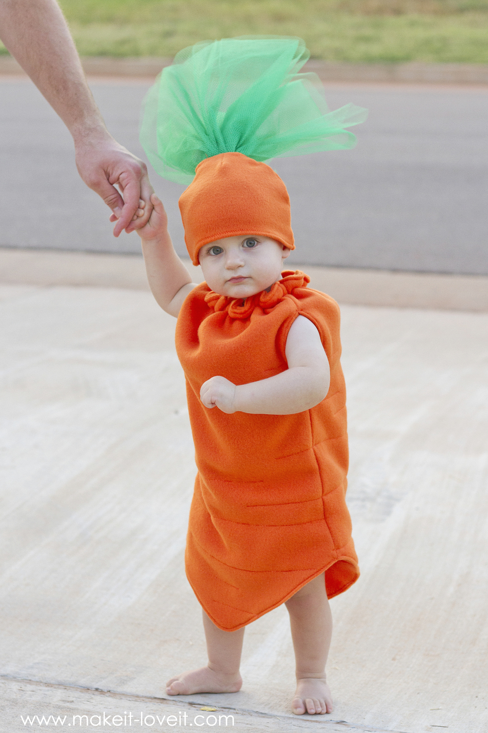 DIY Carrot Costume...a simple and unique costume for any age!   via Make It and Love It
