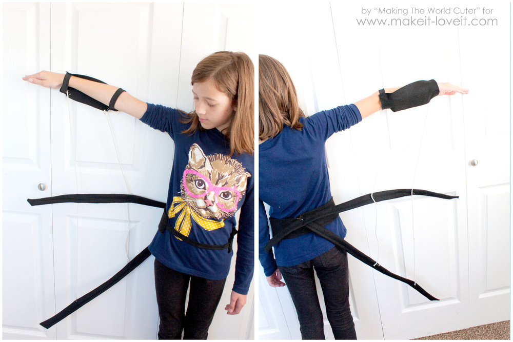 DIY Tween or Teen Spider Costume by Making the World Cuter for Make it and Love it.