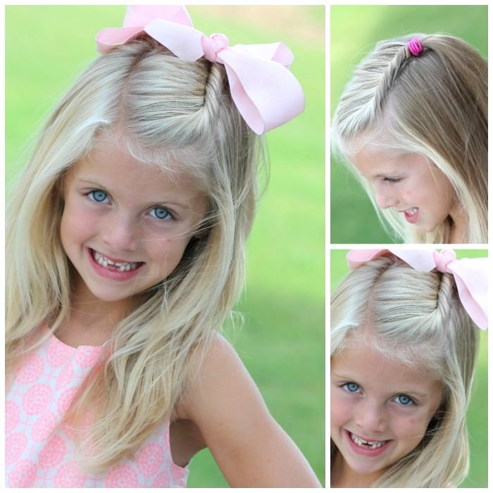 Wedding Hairstyle You Can Do Yourself: 25 Little Girl Hairstyles…you Can Do YOURSELF!