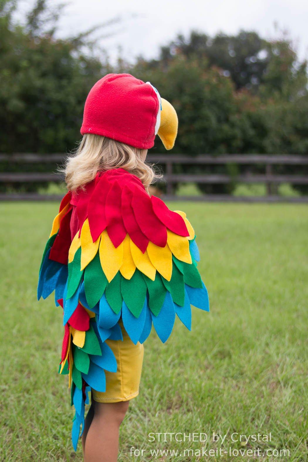 Sew Easy Parrot Costume Make Love