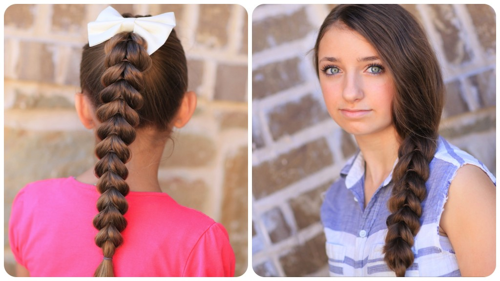 Strange 25 Little Girl Hairstyles You Can Do Yourself Hairstyles For Women Draintrainus