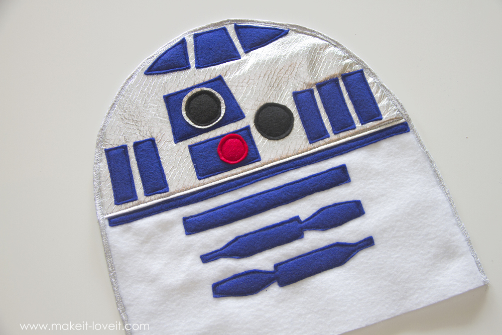Star Wars R2D2 Dress Costume 12