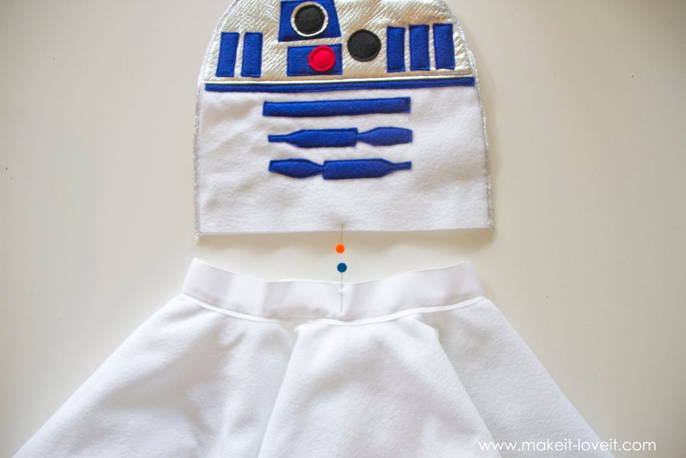 Star Wars R2D2 Dress Costume 13