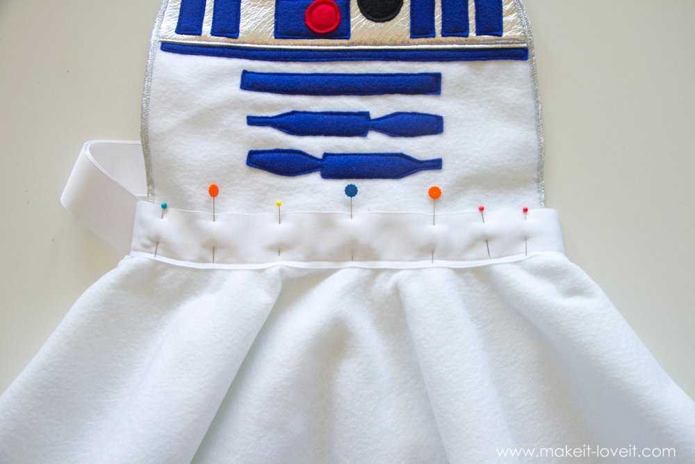 Star Wars R2D2 Dress Costume 15