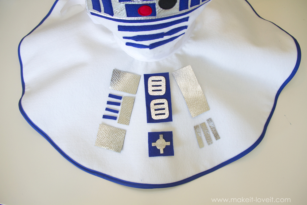 Star Wars R2D2 Dress Costume 20