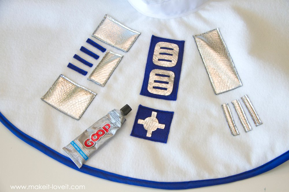 Star Wars R2D2 Dress Costume 21