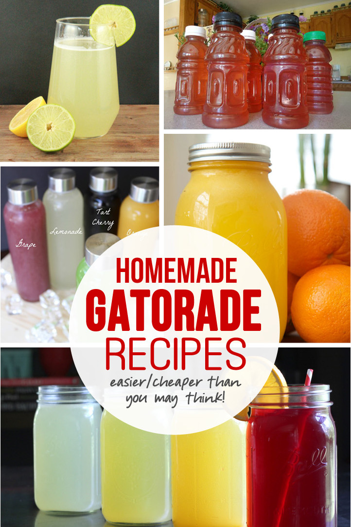 HOMEMADE GATORADE…easier (and cheaper) than you might think!