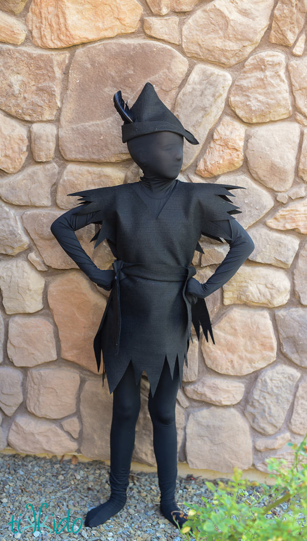 Peter Pan Shadow Costume (9 of 11)