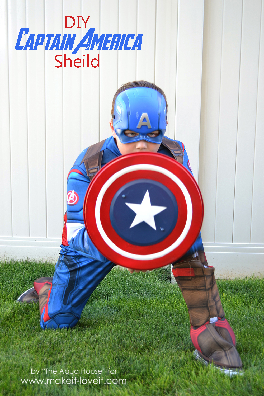 DIY Captain America Shield — an IKEA Hack