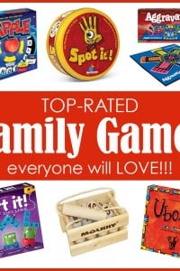 Gift Guide: 20 Top-Rated FAMILY GAMES...everyone will LOVE! | via Make It and Love It
