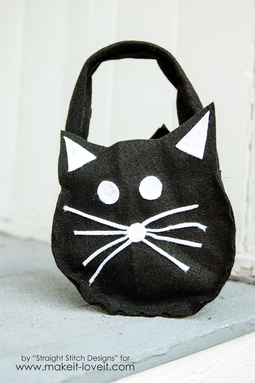DIY Trick-or-Treat Bag {from felt}