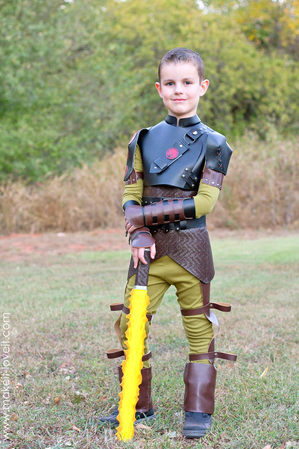 Diy Hiccup Costume From Quot How To Train Your Dragon 2 Quot