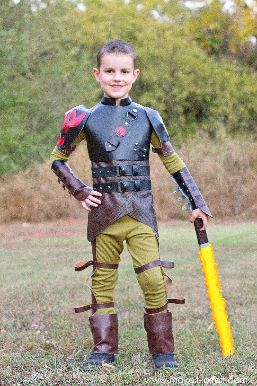 "DIY Hiccup Costume…from ""How To Train Your Dragon 2"""