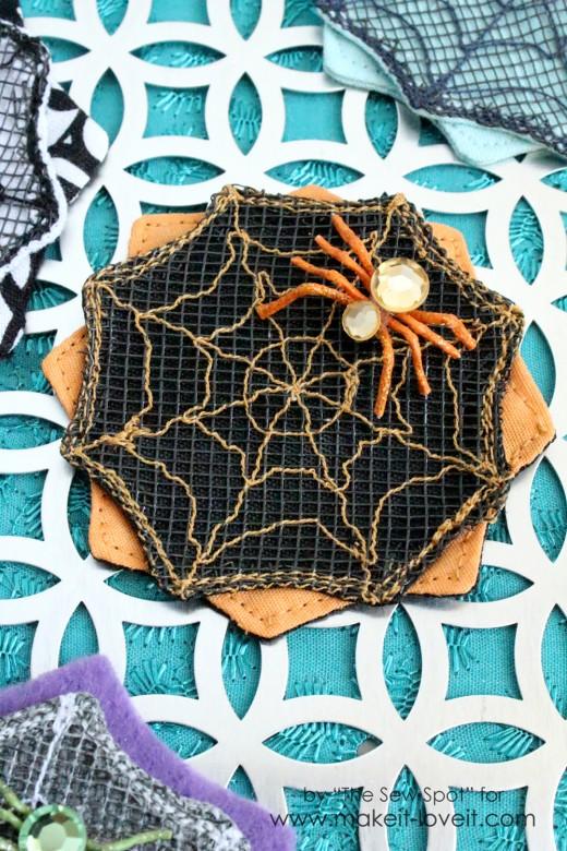 Spider Web Hair Clip