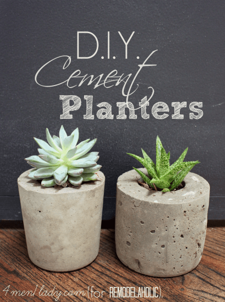 DIY-Cement-Planters