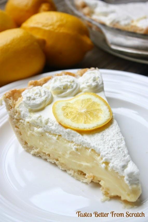thanksgiving lemon pie