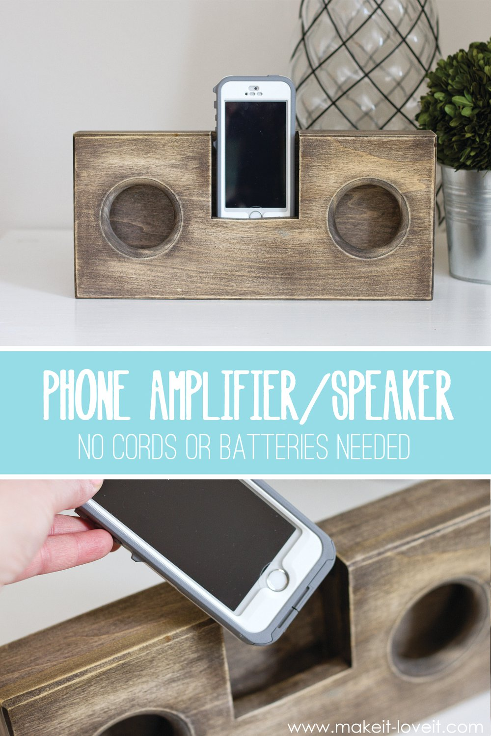 Wooden-Phone-AmplifierSpeaker-no-cord-or-batteries-needed-7