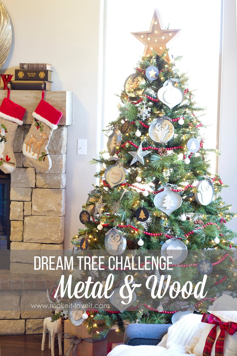 Dream Tree Metal And Wood