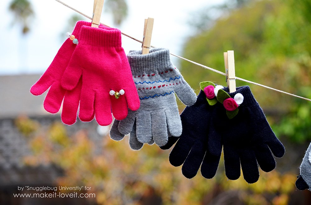 Easy to Make Mittens and Gloves…for everyone on your list!