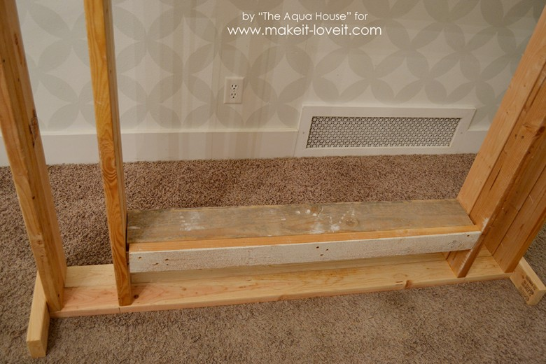 faux fireplace and mantle (17)