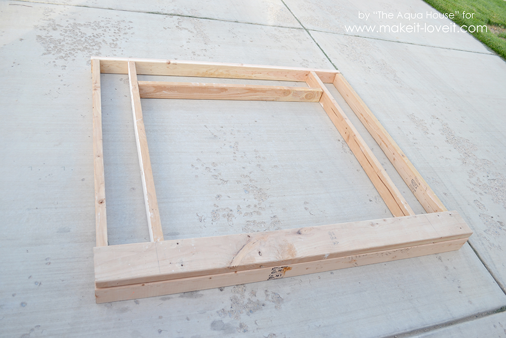 how to how to build a fake fireplace : Make a FAUX FIREPLACE WITH HEARTH...that looks absolutely real ...