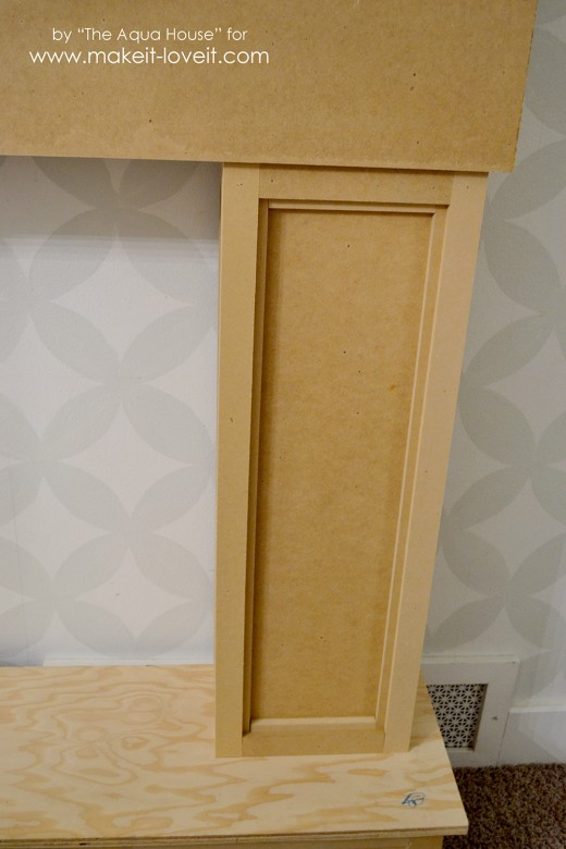 faux fireplace and mantle (46)