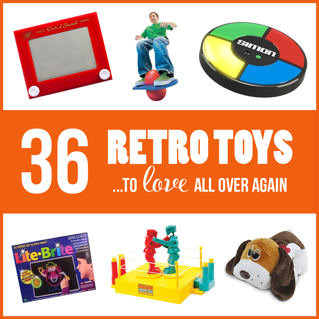 Gift Guide: 36 Retro Toys to LOVE all over again!