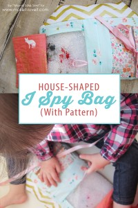 House-Shaped I Spy Bag