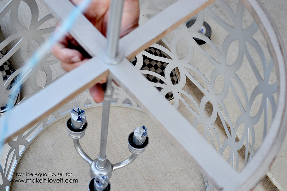 gorgeous DIY Light Fixture (20)