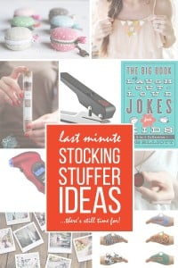 26 Last Minute Stocking Stuffer Ideas (...there's still time to make/buy!) | via Make It and Love It