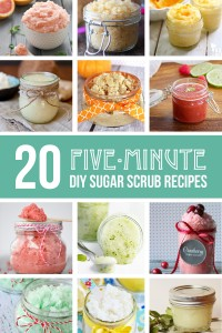 20 5-minute DIY Sugar Scrub Recipes | via Make It and Love It