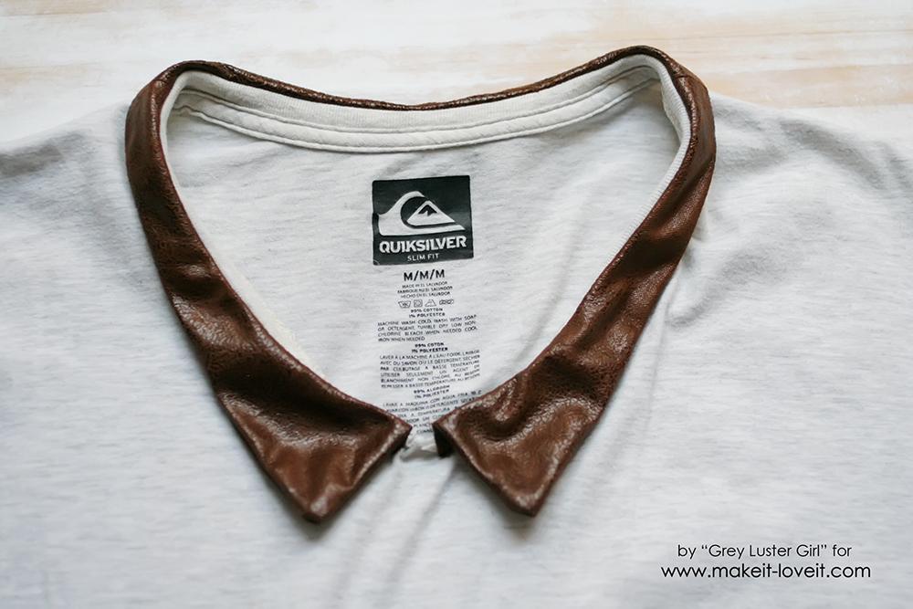 Leather Collar Shirt Refashion (14)