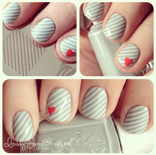 21} Crazy Cute Valentine\'s Day NAIL ART IDEAS! | Make It and Love It