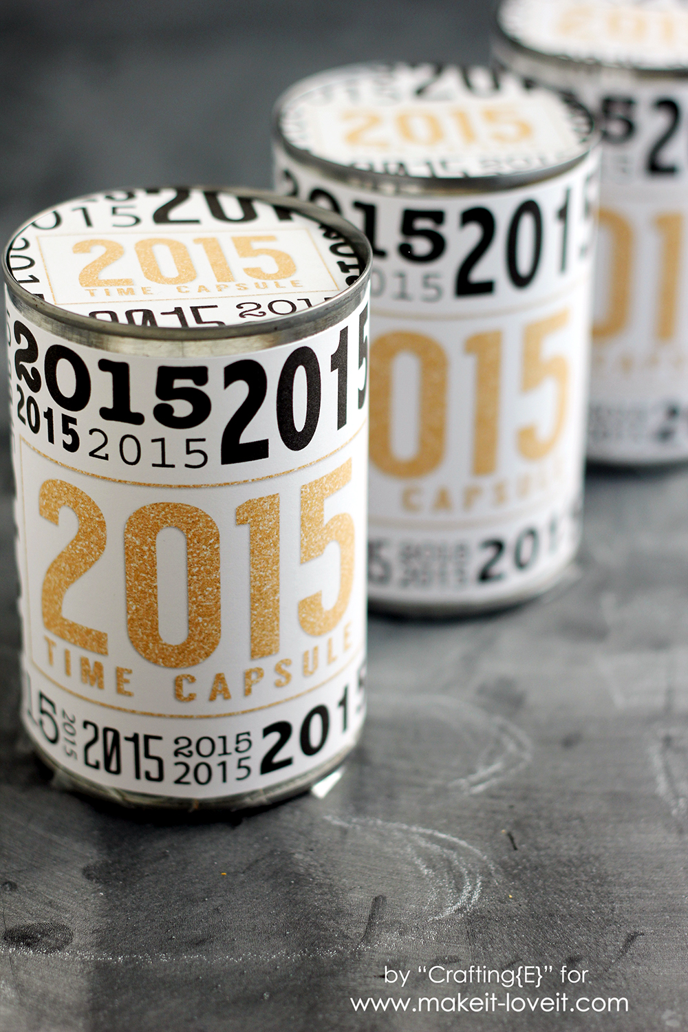 Create A Time Capsule…from an OLD CAN! ((free printable included))