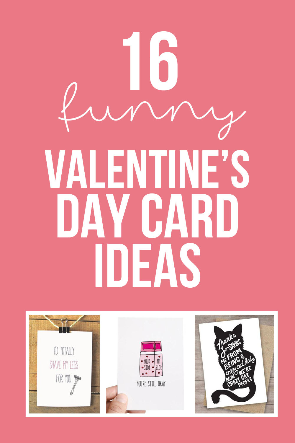 16 Funny Valentines Day Cards & Poems | via Make It and Love It