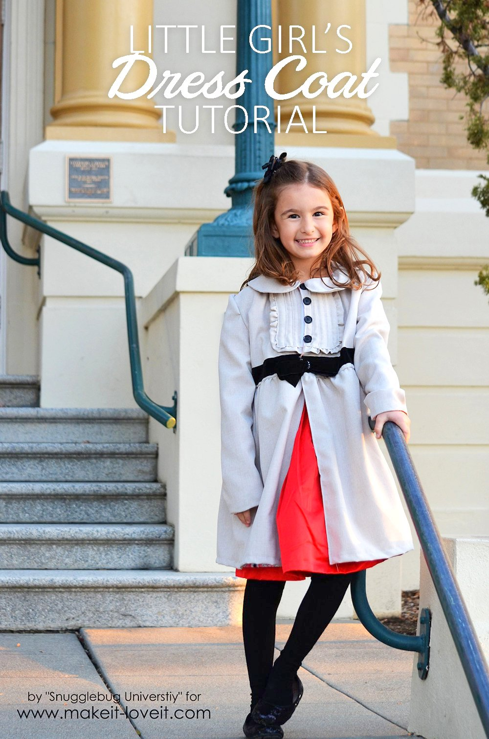 Little Girl's Dress Coat Tutorial